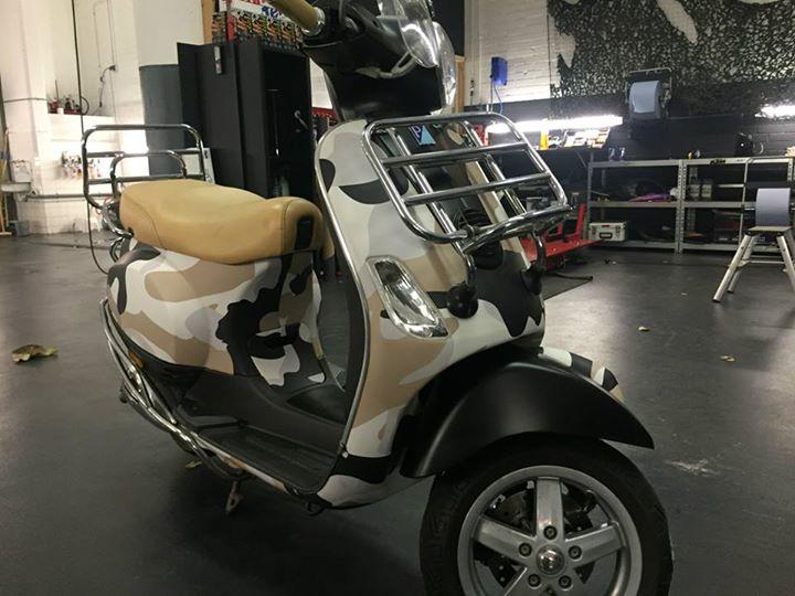Scooter laten wrappen